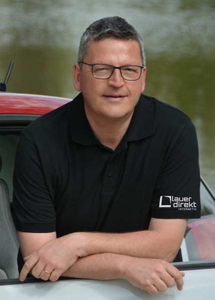 Karl-Günter Lauer, Geschäftsführer von Lauer-Direkt