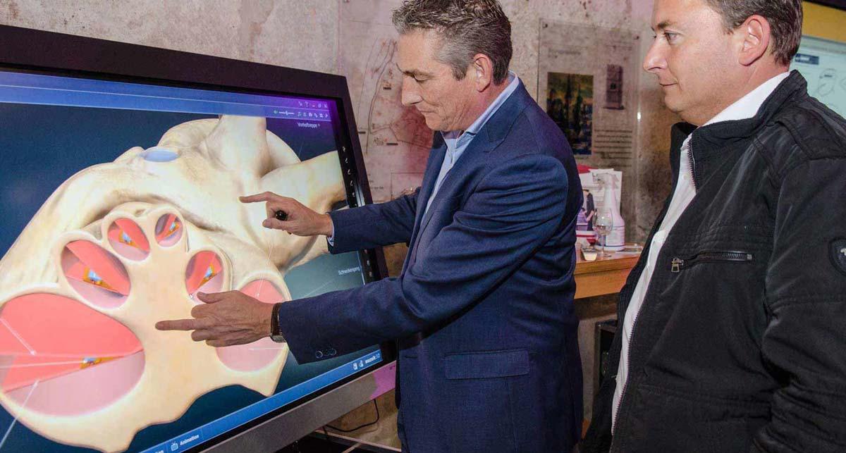 Touchscreen Monitore eignen sich ideal als Unterrichtsmedium