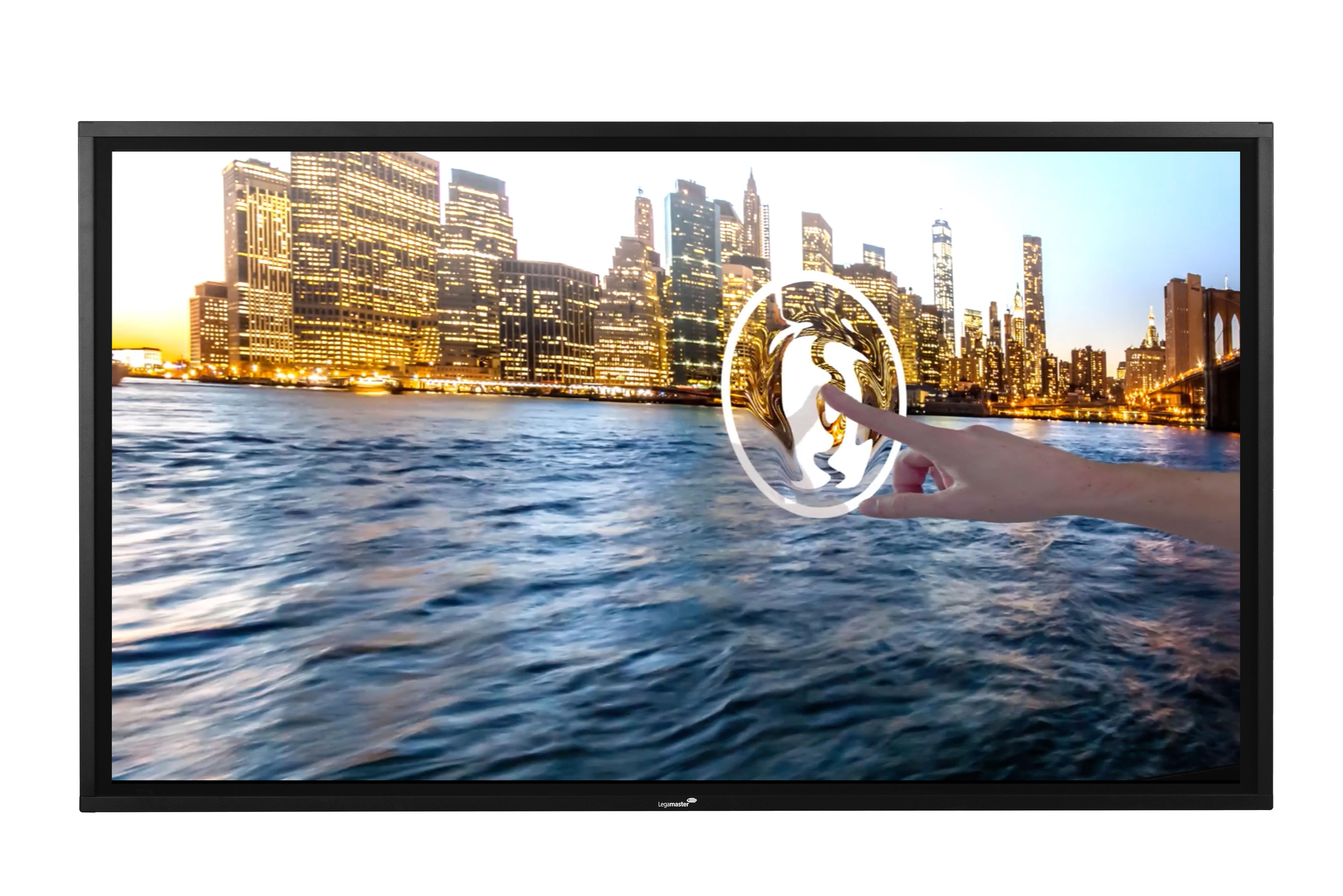 Legamaster Touch-Monitore mit vielen technischen Highlights